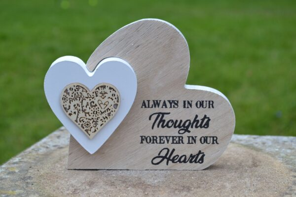 always in our thoughts hearts