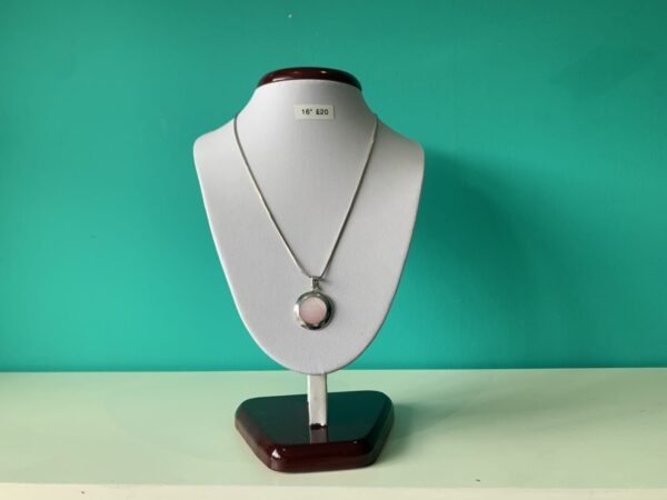 silver pendant neclace scaled
