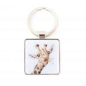 Giraffe Keyring qqjv oc