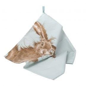 X0015048892 Tea Towel hare