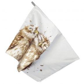 X0015048893 WD Tea Towel Owl