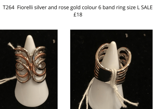 TLR 14 Fiorelli 6 band ring