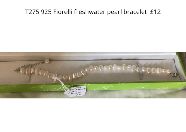 TLR 14 Fiorelli 925 freshwater pearl necklace