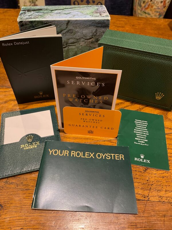 Rolex Oyster Perpetual Chronometer Watch 14233 PAPERWORK