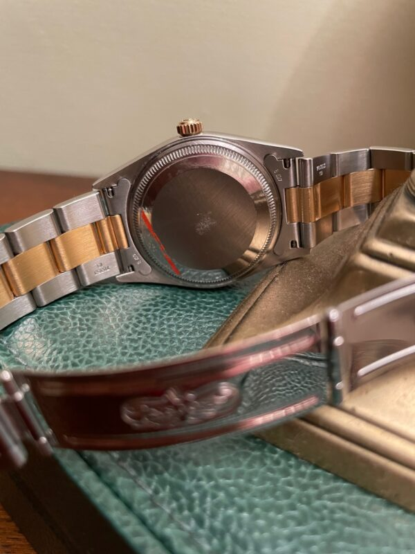Rolex Oyster Perpetual Chronometer Watch 14233 ROLEX CASE MARKINGS